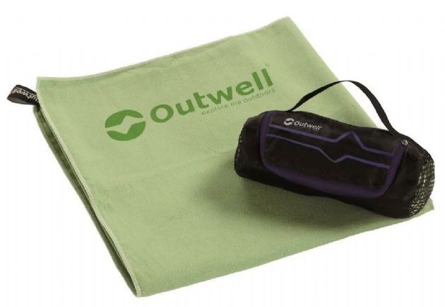 Outwell MICRO PACK TOWEL S, Quick drying towel - Grasshopper Leisure